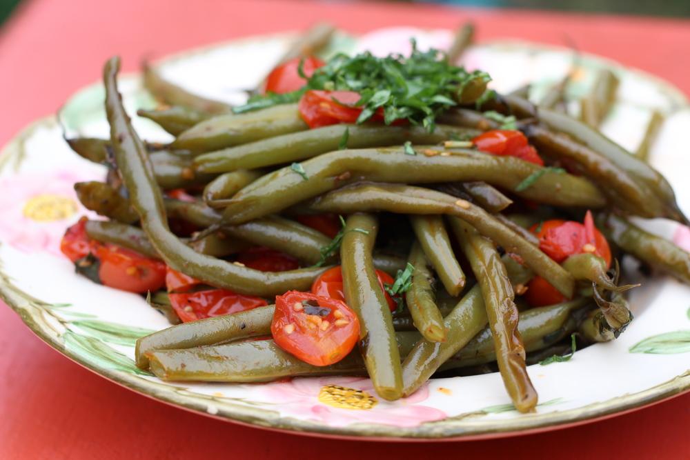 Tomato Basil Beans