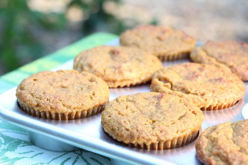 Pumpkin, Orange, Anise Muffins with Pecans