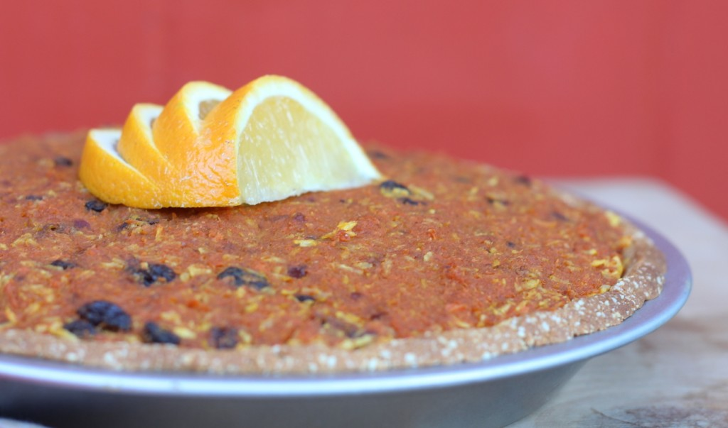 Indian Spiced Carrot Cake
