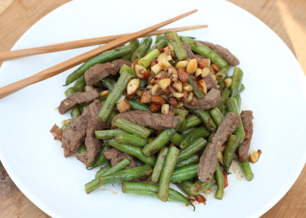 Sweet and Spicy Beef & Green Beans