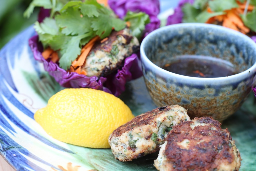 Thai Chicken Meatballs-sibodietrecipes